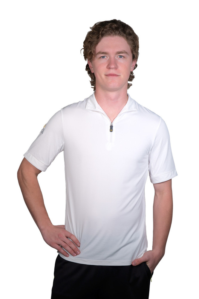 Short Sleeve Shirt White with White Trim
