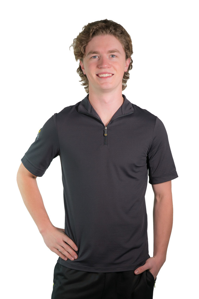 Short Sleeve Shirt Black with Black Trim