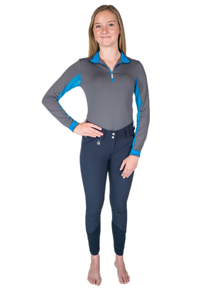 Camilla Full-Seat Silicone Breech Navy