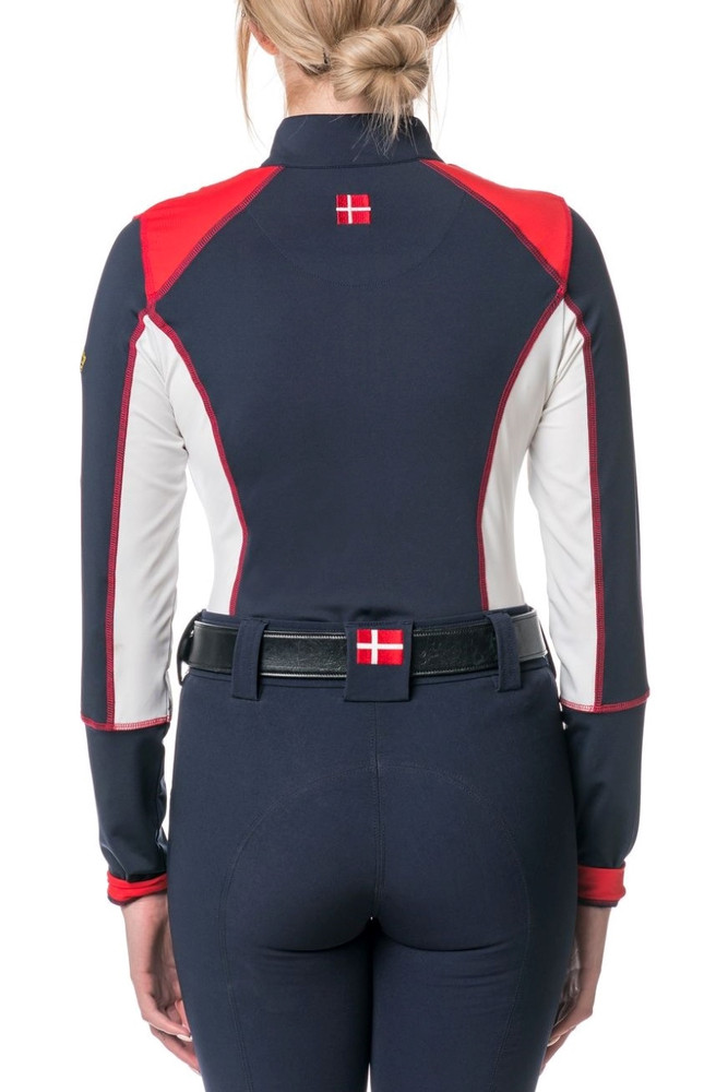 Red, White and Navy Champion Collection Colorblock