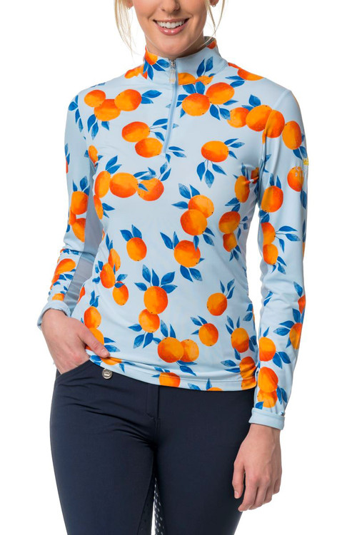Sunshine Citrus Oranges, long sleeve