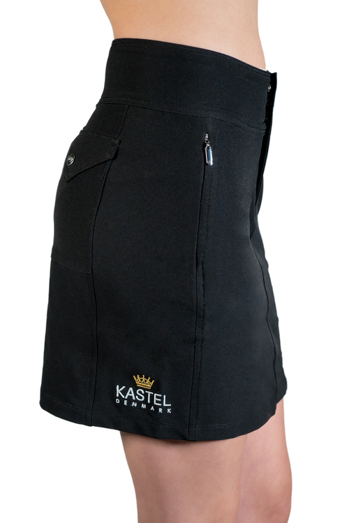 Skort Black with Black Trim