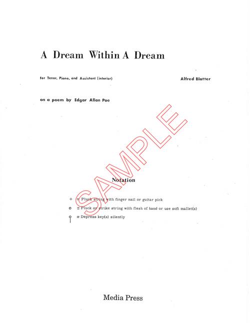 edgar allan poe a dream within a dream