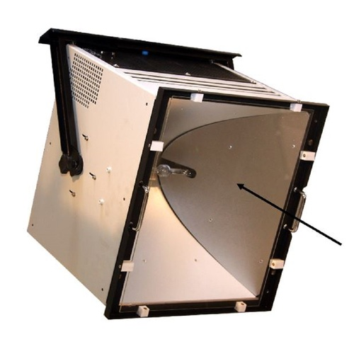 Filtre UV stop pour Solarconstant MHG 2500 et 4000
