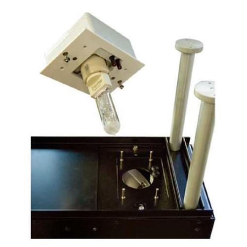 1 Lampe MHG 575W pour Solarcelltest 575. Remplacement recommandé après 1000 heures