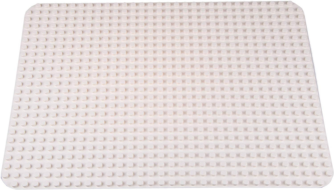 4 Tight Fit Light Gray One-Sided Base Plates Strictly Briks Classic Baseplates 15 x 7.5 Building Brick Baseplate 100/% Compatible with All Major Brands