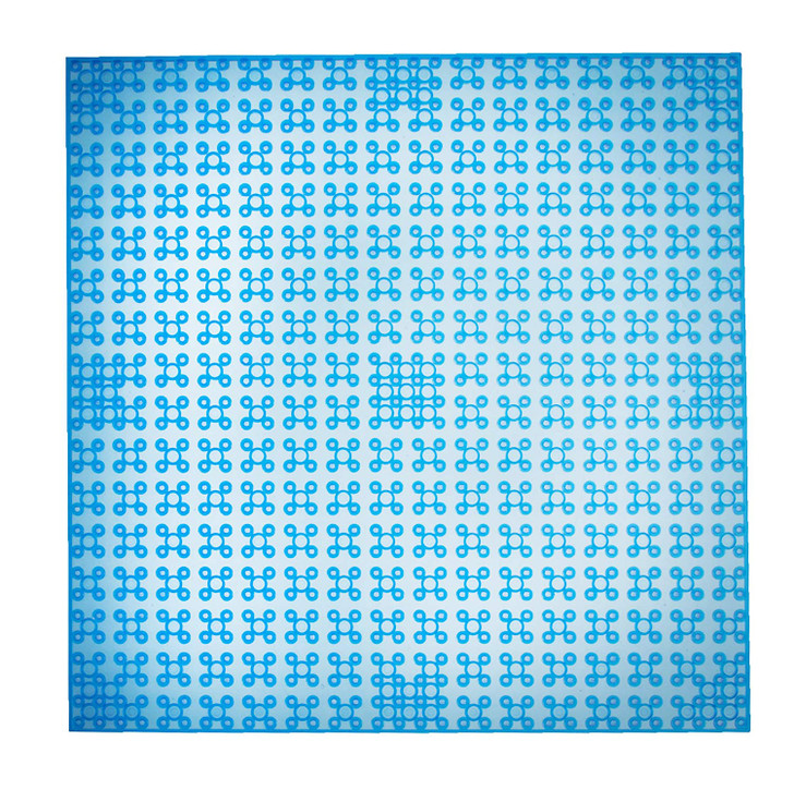 """Classic Baseplates 10"""" x 10"""" Stackable Brick Base Plate by Strictly Briks 