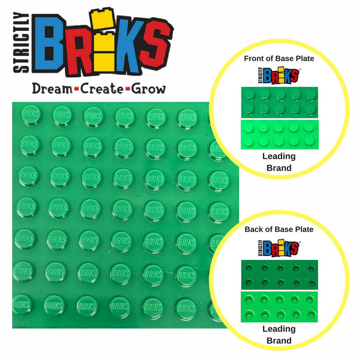 Strictly Briks Flat Bottom Baseplates