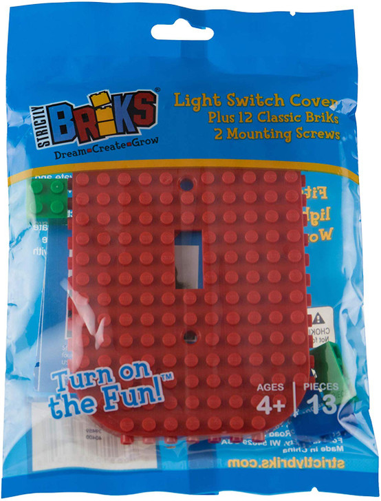 Strictly Briks - Light Switch Cover - Compatible with All Major Brands