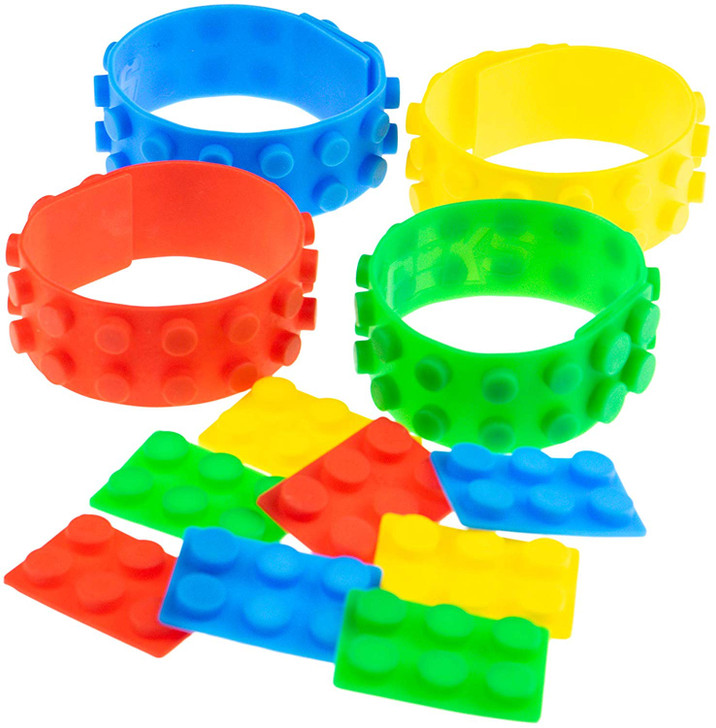 Big Briks - Building Bricks & Blocks Set - 100% Compatible with All Major Brands - 11 Shapes & Sizes for Ages 3+ - Basic Colors - 500 Pieces