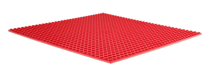 "Strictly Briks Classic Baseplates 10"" x 10"" Stackable Brick Base Plate 100% Compatible with All Major Brands 
