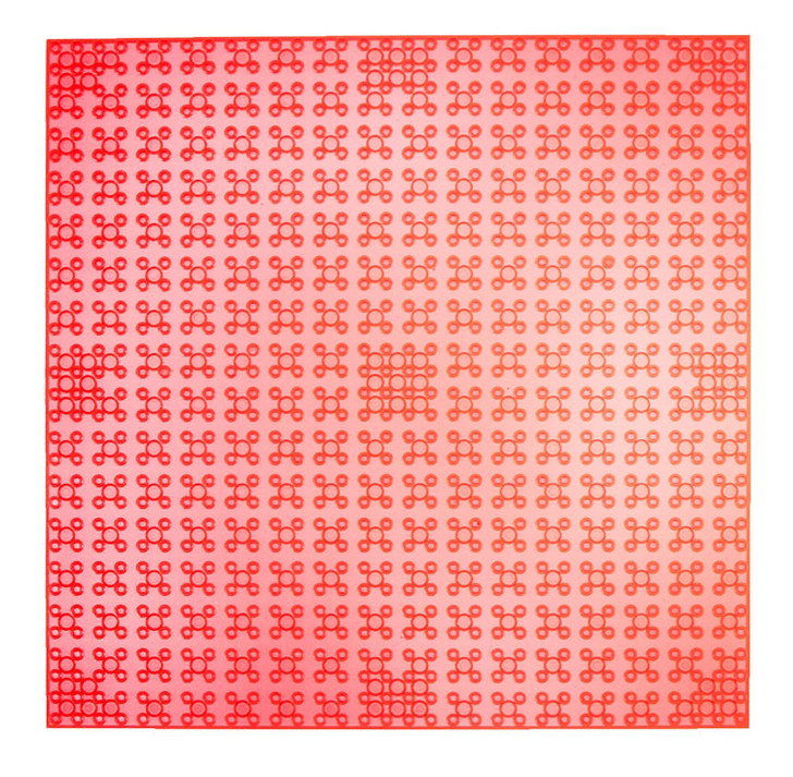 """Strictly Briks Classic Baseplates 10"""" x 10"""" Stackable Brick Base Plate 100% Compatible with All Major Brands 