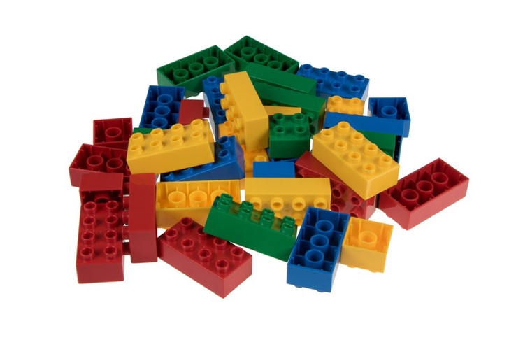 Classic Big Briks 36 Piece Set by Strictly Briks   Building Brick Set   100% Compatible with All Major Large Brick Brands   Big Bricks For Ages 3+   Tight Fit Bricks in Blue, Green, Yellow and Red