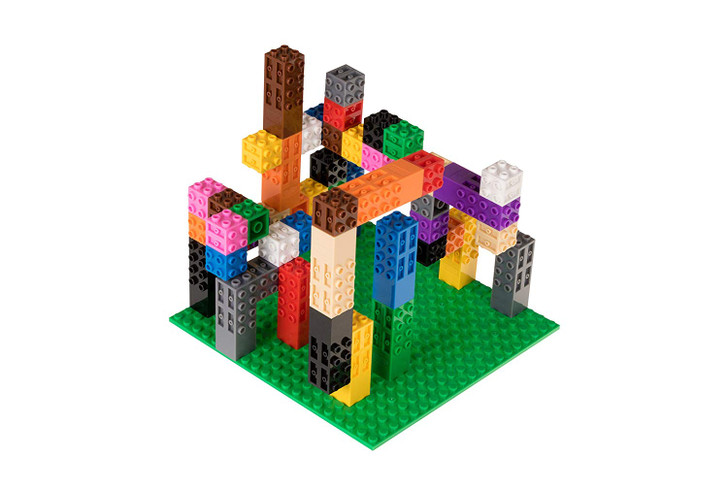 """Strictly Briks Classic Creative 3D STEM Building Bricks Creatorz Classroom Set 100% Compatible with All Major Brick Brands 