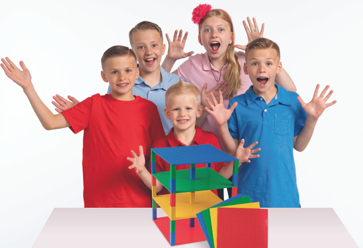 Family Fun Pack 4 Tall Brik Tower