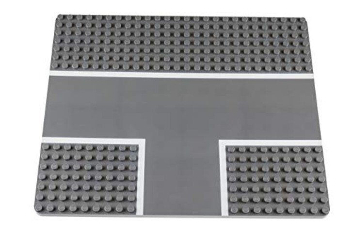 """Strictly Briks Classic Baseplates 22"""" x 26"""" Building Road Brick Baseplate 