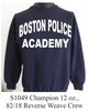 Boston Police PT Sweatshirt