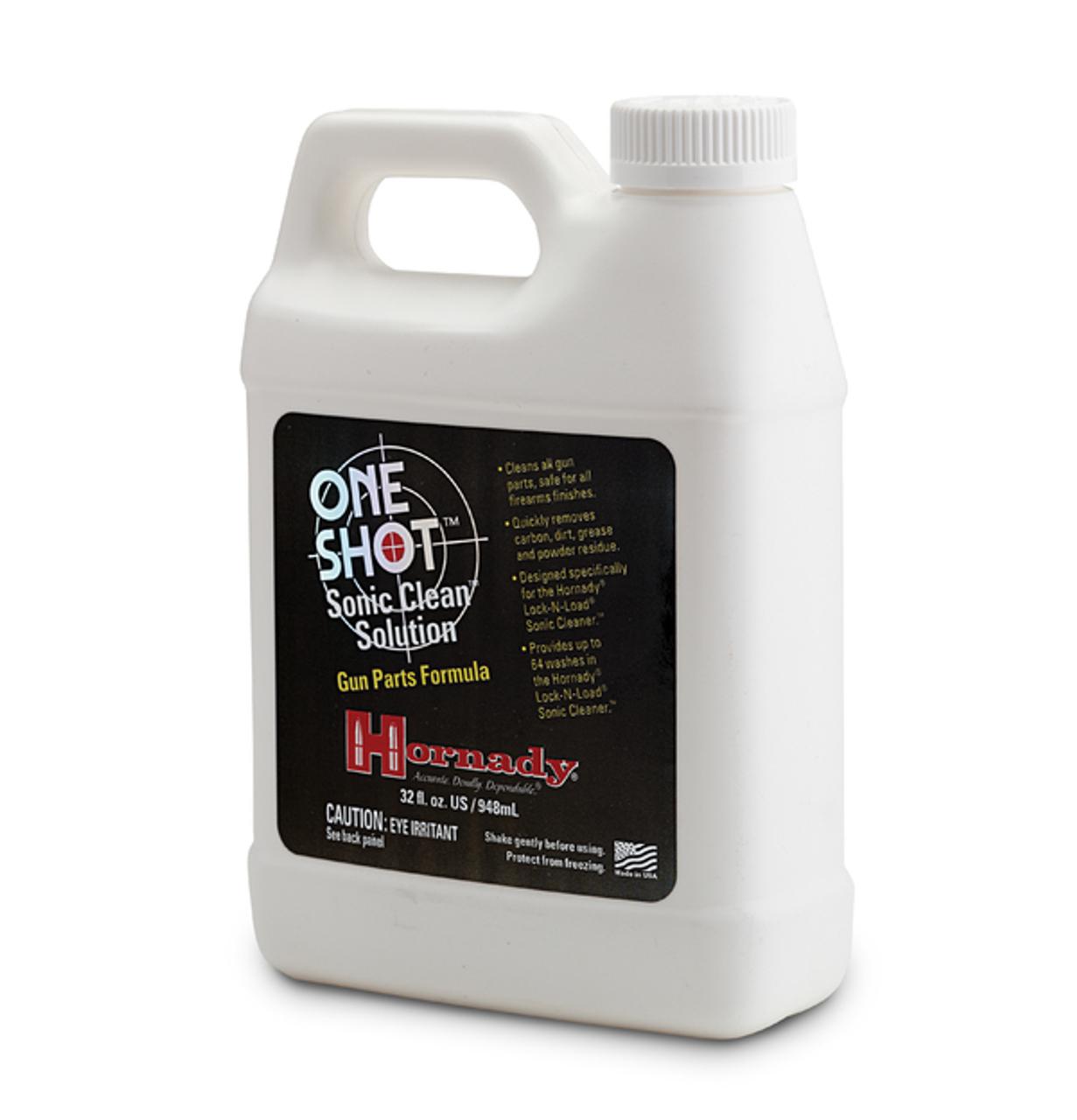 ONE SHOT® SONIC CLEAN™ GUN PARTS SOLUTION