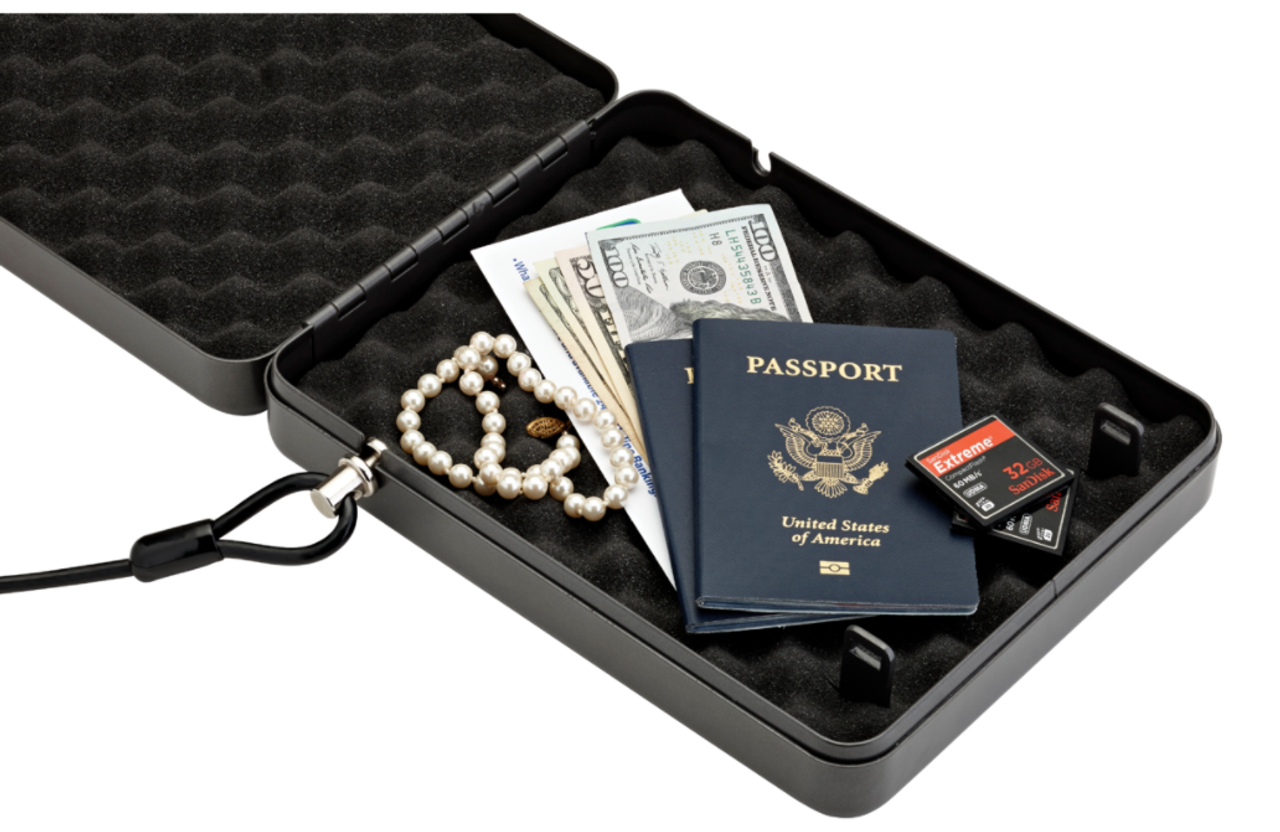 The Alpha Elite® Lock Box lives up to its name with groundbreaking security technology to protect your handguns and other valuables. Protect valuables such a jewelry, documents, keys, passports in this safe.