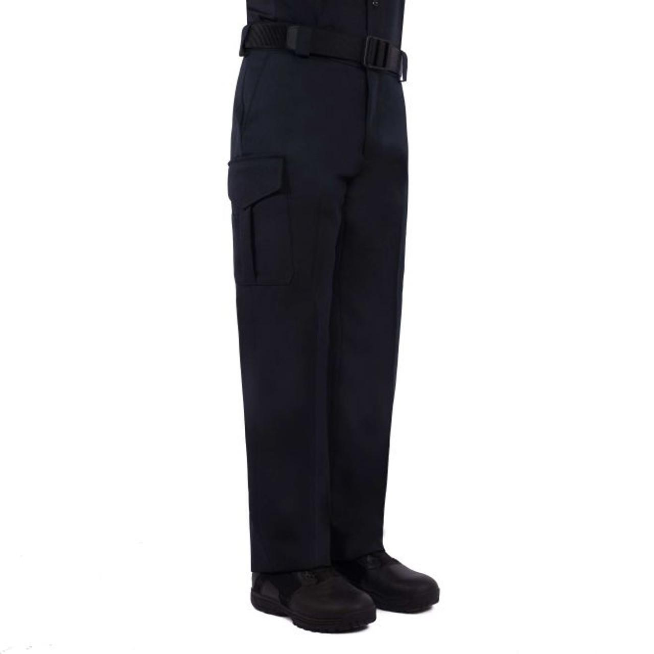 SIDE-POCKET POLYESTER PANTS