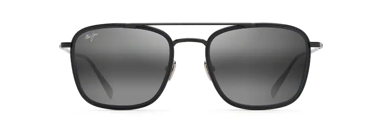Following Seas | Black Gloss Frame w/ Black Matte Rim | Neutral Grey