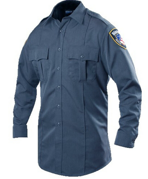 Blauer Long Sleeve Shirt - - Poly-Rayon (Women's)