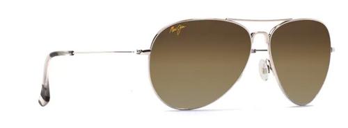 Maui Jim - MAVERICKS -  Silver Frame -  HCL Bronze
