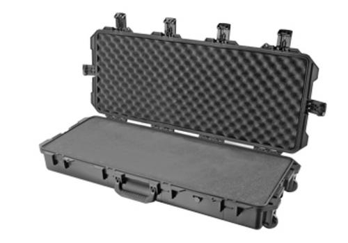 "Pelican Storm Cases, iM3100 Storm Long Case, With Foam, 36.5"" X 14"" X 6"", Black Finish"