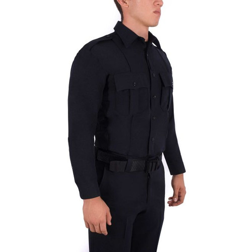 LONG SLEEVE POLYESTER SUPERSHIRT® - BPD Patched (Slightly Worn)
