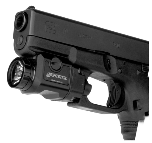 COMPACT WEAPON-MOUNTED LIGHT W/STROBE