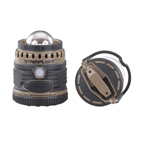 This rugged, rechargeable, 1,100 lumen outdoor lantern also provides an auxiliary USB power source to charge your USB devices. For softer lighting, use the low mode and extend your white light runtime to over 36 hours. Plus it's waterproof, and it floats!