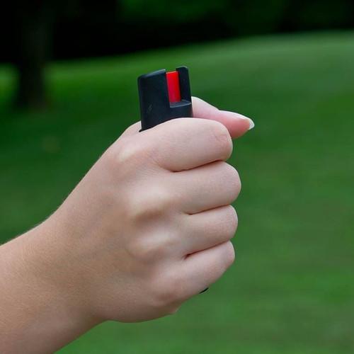 Defense Spray with Attachment Clip