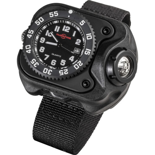 Rechargeable Variable-Output LED WristLight + Watch