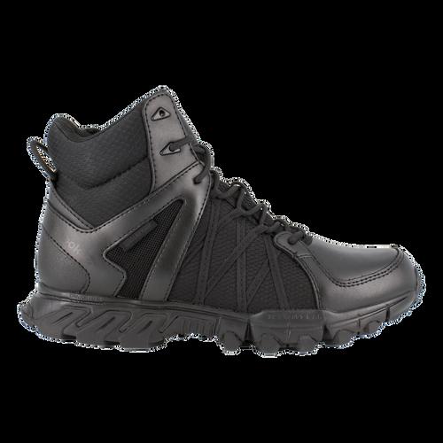 "Trailgrip Tactical | 6"" Waterproof Boot | Side Zipper | Black"