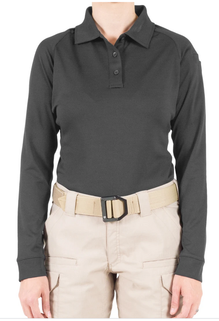 Women's Performance Polo Long Sleeve
