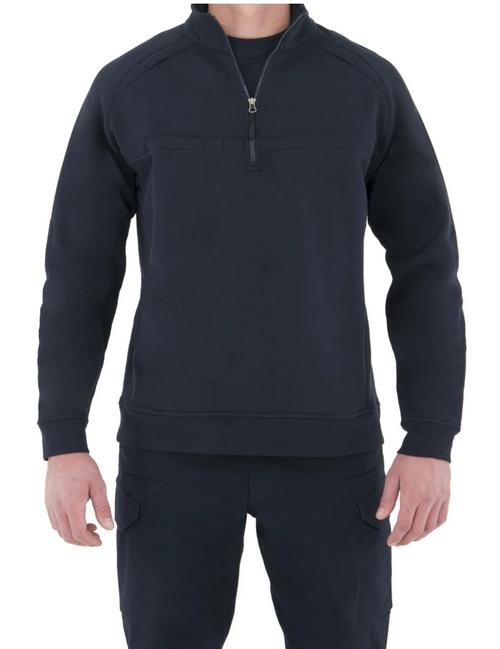 Men's Cotton Job Shirt - - 1/4 Zip