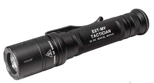 E2T MAXVISION TACTICIAN Dual-Output MaxVision Beam® LED Flashlight
