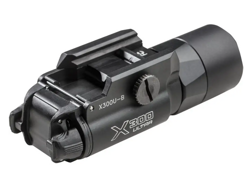 X300U-B WEAPONLIGHT Ultra-High-Output LED Handgun WeaponLight