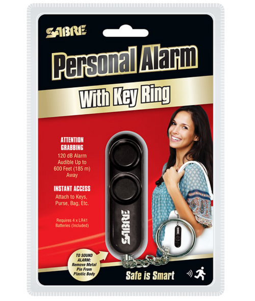 Personal Alarm with Key Ring
