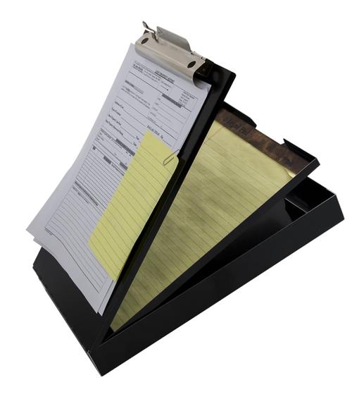 Cruiser-Mate® - Black - Letter/A4 Size - Clipboard