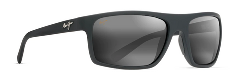 Maui Jim - BYRON BAY - Matte Black Rubber - Neutral Grey