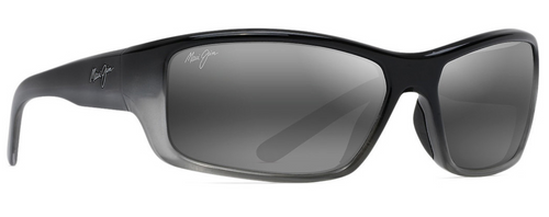 Maui Jim - BARRIER REEF - Black with Silver Grey - Neutral Grey