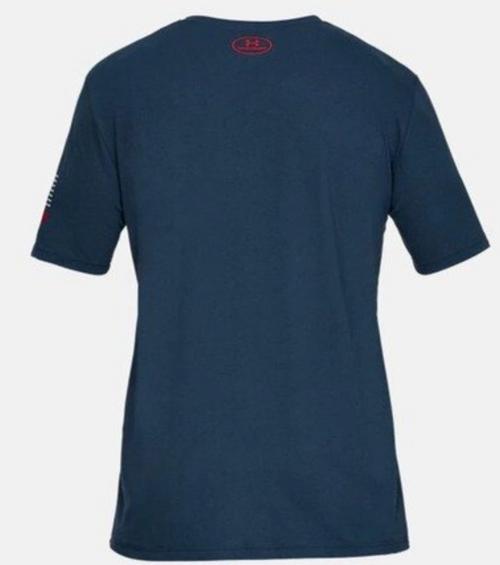 UA Freedom - USA Chest T-Shirt