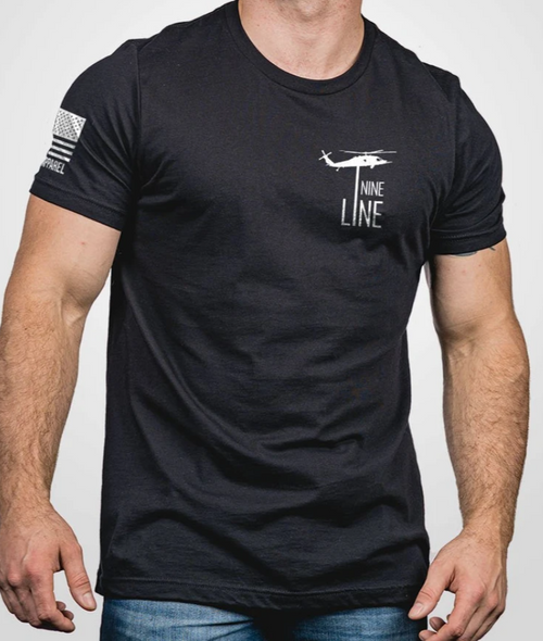 Nine Line Apparel - Get The Hell Out - Black T-SHIRT