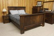 Rough Sawn Cedar Bedroom