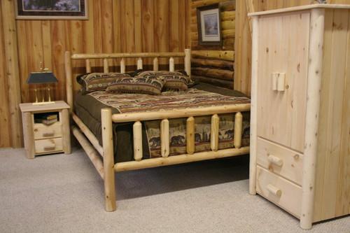 Frontier Cedar Log Beds - CF7020, CF7021, CF7022, CF7023, CF7024