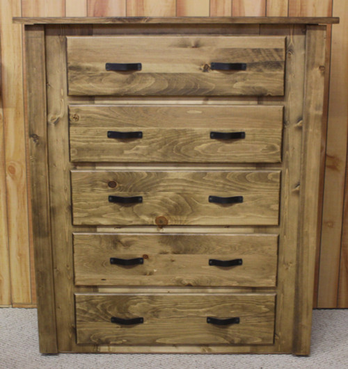 Hidden Lake Concealment Traditional 5 Drawer Chest - HLTPC102