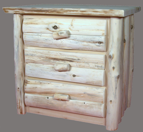Hand Peeled 3 Drawer Chest - CHP5009