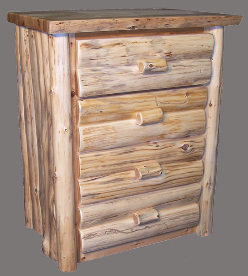 Hand Peeled 4 Drawer Chest - CHP5012