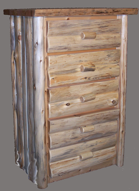 Hand Peeled 5 Drawer Chest - CHP5013